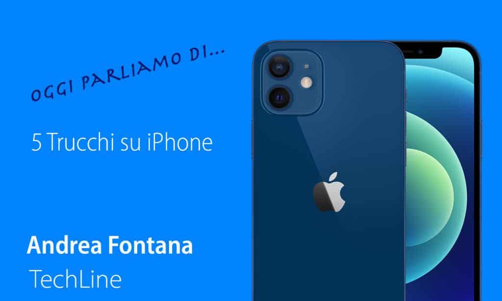 5 trucchi iPhone