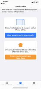 Automazione iPhone