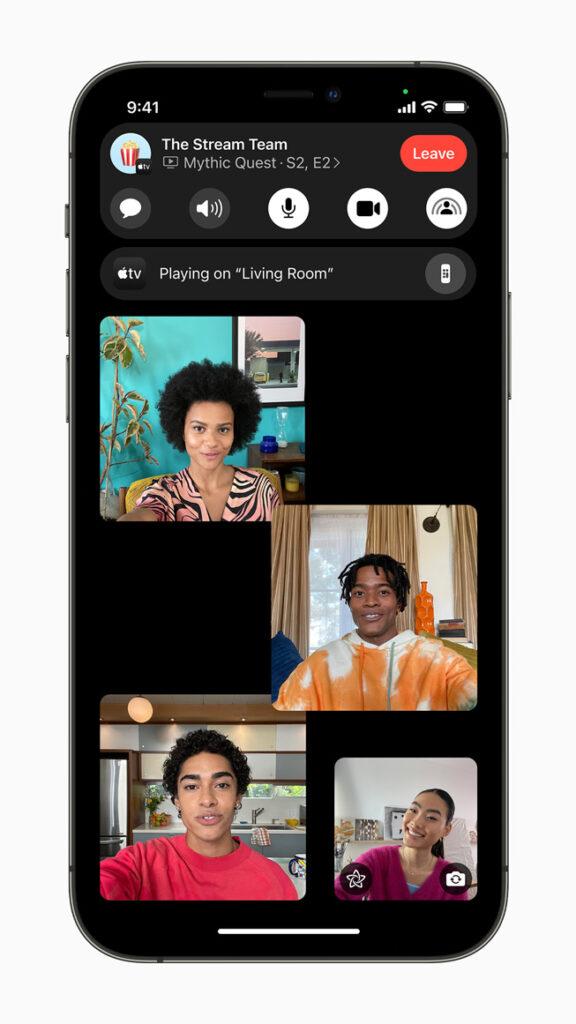 iOS 15 FaceTime Techline blog