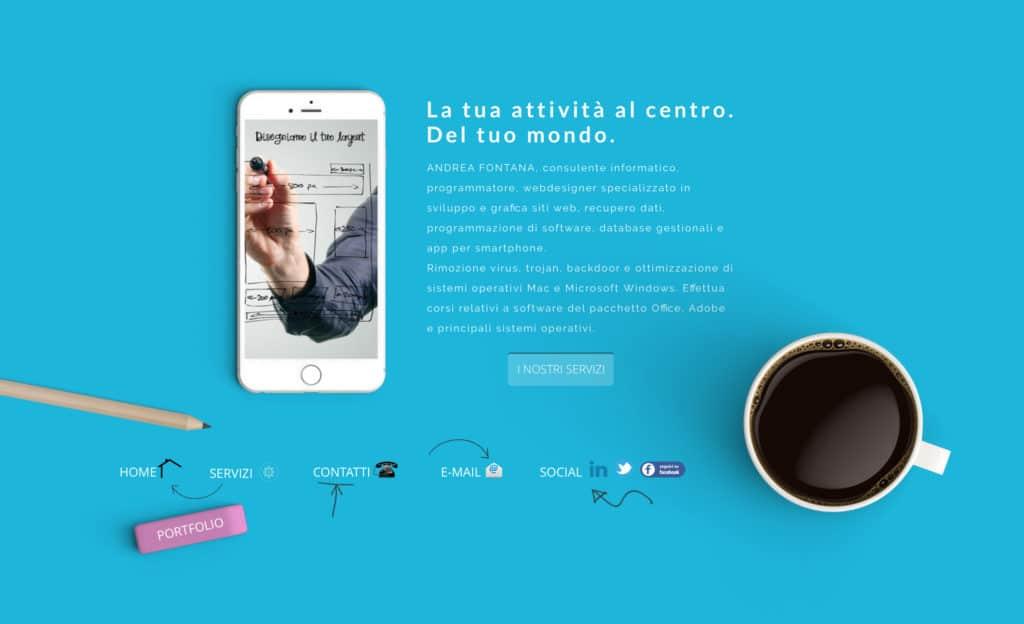 Home Page Andrea Fontana
