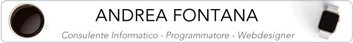 Andrea Fontana Blog