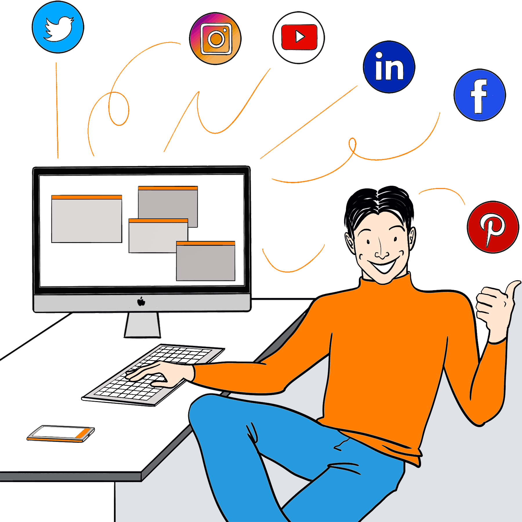 Campagne Social Web Marketing Andrea Fontana